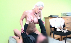 LOAN4K. Perfect tits and best blowjob for a credit manager