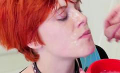 Slut gets fucked hardcore Cummie, the Painal Cum Cat