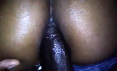 Big ass ebony Thalia Tate takes a big black cock in