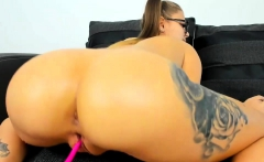 Big Ass Webcam Girl Solo Wanking