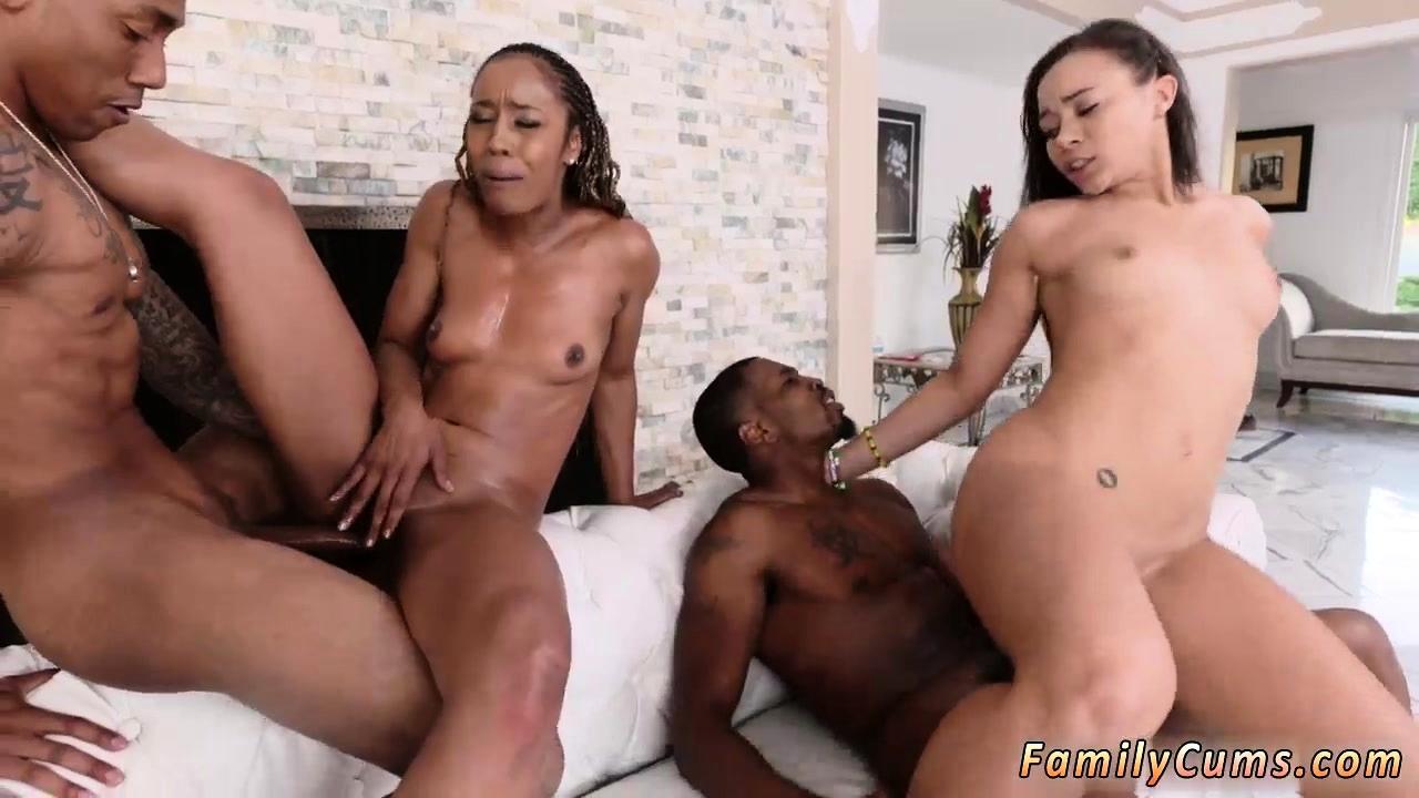 Ebony Lesbian Orgy Party