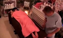 Asian japanese teen stockings blowjob