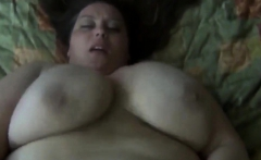 Horny BBW craves for a big load of dick