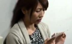 Wet Japanese MILF Junko Ishikura Riding Young Cock