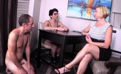 Hot wife femdom and cumshot