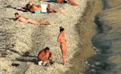 Spy videos from real nudist beaches