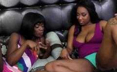 Fine ass black sluts share extreme hot lesbian action