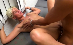 German FEMALE Nurse Fuck with two Young Guys in Praxis