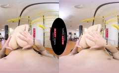 RealityLovers VR - Anal Workout for Fit Gym Teen