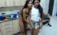 Amateur Latin Lesbian Orgy