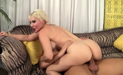 Blonde Dalny Marga hammered and jizzed