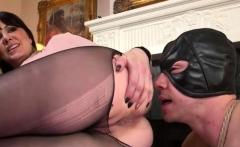 Dominant Lady Fucks the Dude in Bondage