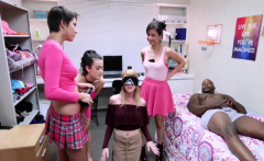 Nora Ivy In Interracial Initiation Games