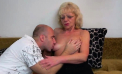 Lusty Mature Slut Fucked by a Horny Stud