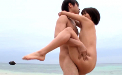 Outdoor passion and sex along - More at Japanesemamas.com