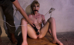 Inked sub covered with vine and humiliated