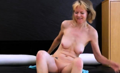 Hot milf casting with cum in mouth
