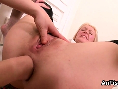Wicked Lesbo Hotties Are Stretching And Fisting Anals54tva