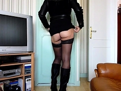 Amateur Crossdressers Have A Fun