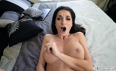 Silvia Saige rides Ike Diezels thick veiny dick