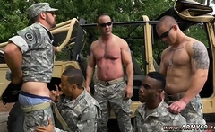 Naked movietures of black gays xxx R&R, the Army69 way