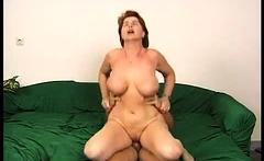 From Big boobed mature BBW Lady Lynn hardcore sex