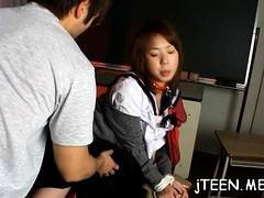 Kinky Ami Shono Enjoys Sex With A Random Stud