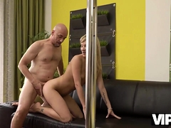 Vip4k. Babe Earns Some Money Playing The Role Of A Strip