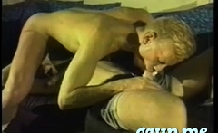Lascivious twink men kiss and fuck every other non stop