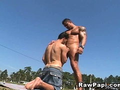 Gay Latino Loves Hardcore Anal Sex With Deepthroat