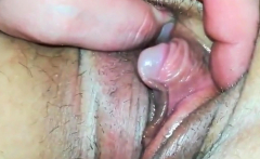 My clit becomes really huge