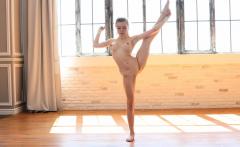 18 y.o Emma Jomel. Professional beautiful gymnasts