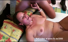 He watches his wife Cecilia fucked in a threesome