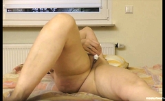Angela 51 shows a series of orgasms at home