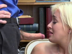 Busty Blonde Teen Caught By A Perverted Lp Officer