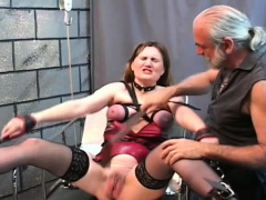 Bizarre Servitude With Hawt Mom And Young Daughter