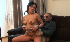 Dazzling russian bimbo does a perfect blowjob