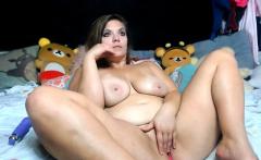Teen chubby big boobs big ass girl masturbate hairy pussy