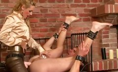 Ass fisting femdom babe loser down