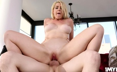 Rion King dipping his dick into Kits hungry pussy