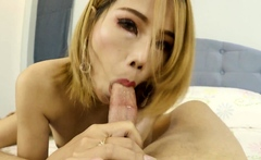 Eager Thai whore gets bred with potent sperm by tourist