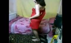 Egyptian crossdresser Ingy dance 06