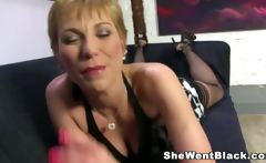 Old Mature Cougar Gemma More gets Rough fucked by a Big