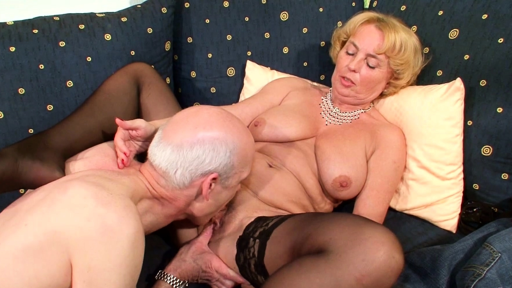 74yr Old German Granny And Grandpa First Time Porn